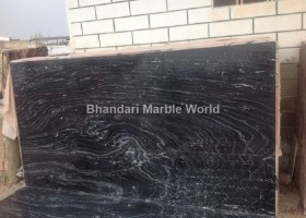 GOLDEN WAVE BLACK MARBLE