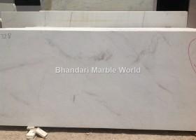 Milky White marble
