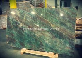 emerald quartz marble